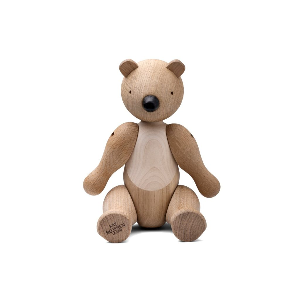 Bear 15cm Maple & Oak