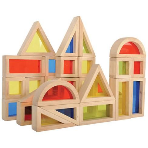 Guidecraft Rainbow Blocks