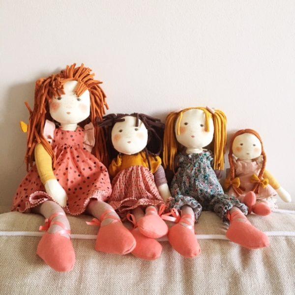 Anemone, Prunelle, Violette and Fleur