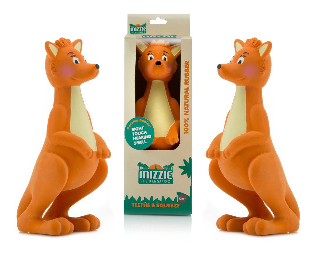 Mizzie the Kangaroo Teething Toy