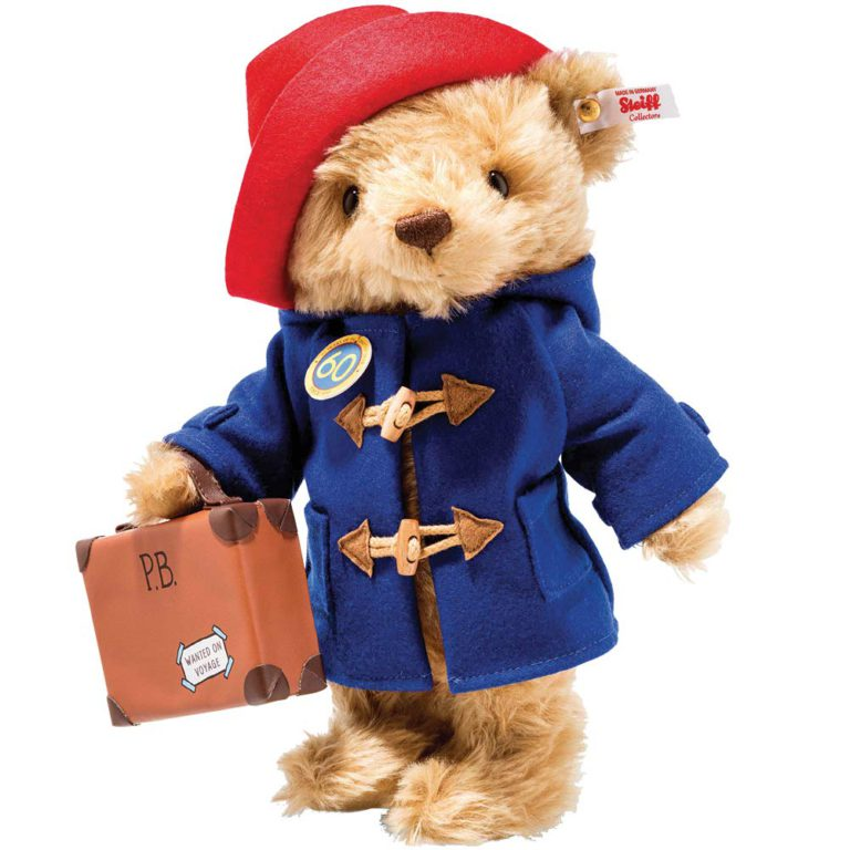 Steiff 60th Anniversary Paddington Bear