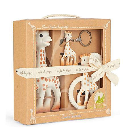 Sophie La Giraffe Trio