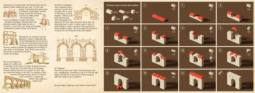 Roman Arch Building Instructions