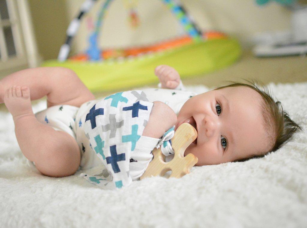 baby wooden teether