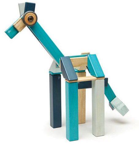 tegu_classic_magnetic_wooden_block_set_blues_-_giraffe