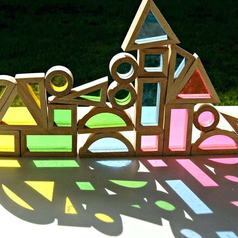 Wooden Window Blocks