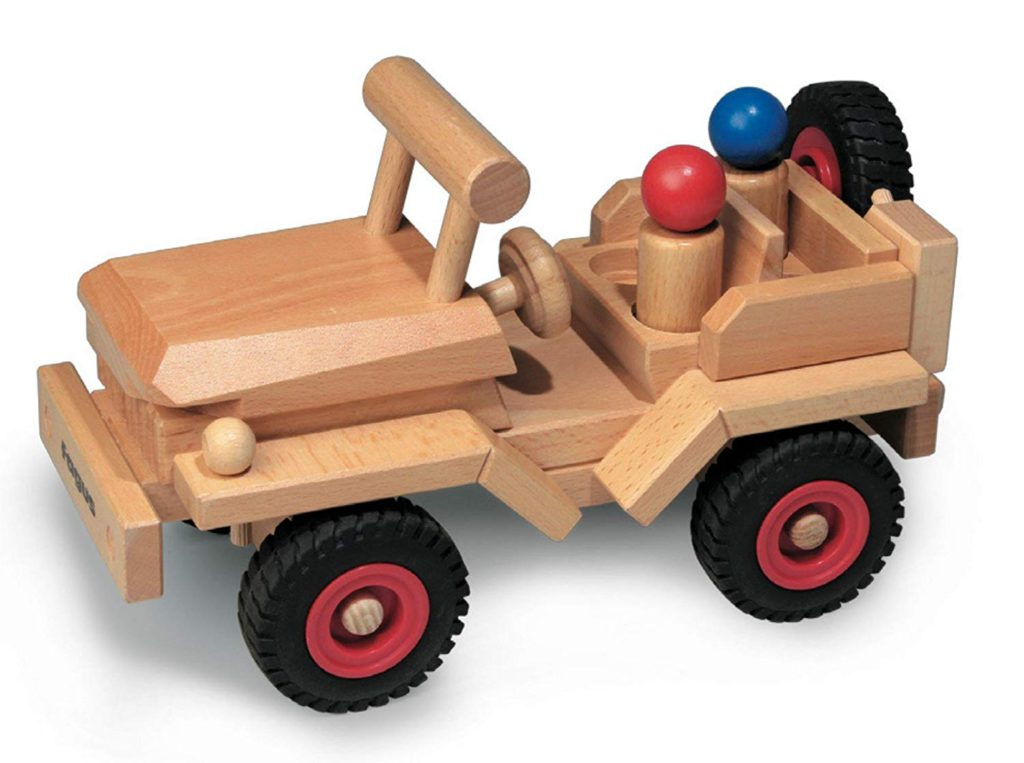 Fagus Wooden Jeep