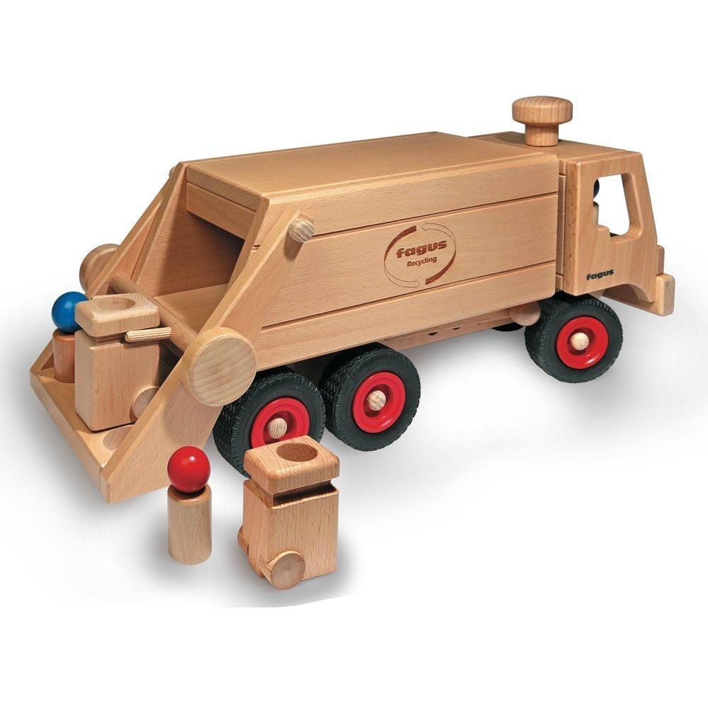 Fagus Garbage Truck Rear