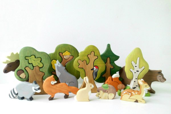 Wooden Animals – Animal Playsets