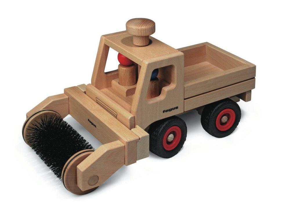 UniMog With Street Sweeper