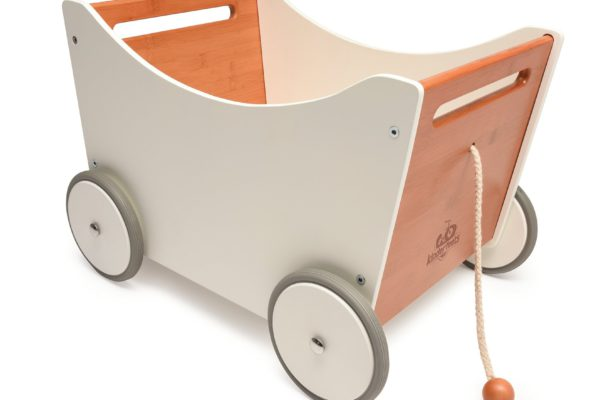Wooden Toy Box – Kinderfeets Toy Box and Walker