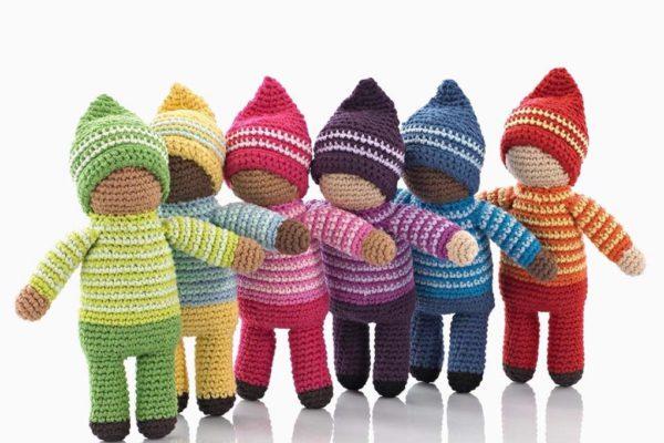 Baby Rattles – Handmade Pebble-Hathay Bunano Toys